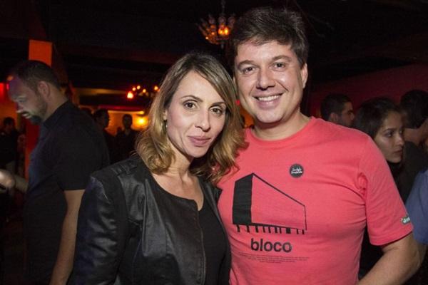 Alessandra Lazzarini e Victor Leal ( Amanda Goes/Divulgação)
