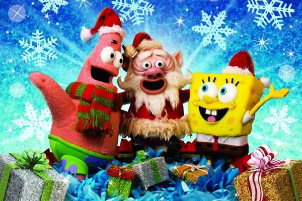 Capítulo especial mostra como é o Natal na Fenda do Bikini (Nickelodeon/Divulgação)