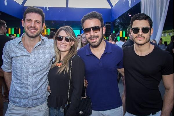 Evandro Zago, Joanna de Souza, Lucas Frota e Augusto Sullivan (Romulo Juracy/Esp. CB/D.A Press)