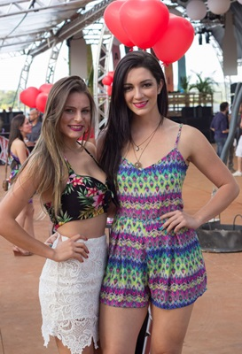 Priscila Martins e Ingrid Albuquerque (Romulo Juracy/Esp. CB/D.A Press)