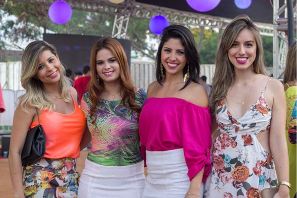Bárbara Rodrigues, Ilana Araújo, Julyanne Muller e Camila Rayer (Romulo Juracy/Esp. CB/D.A Press)