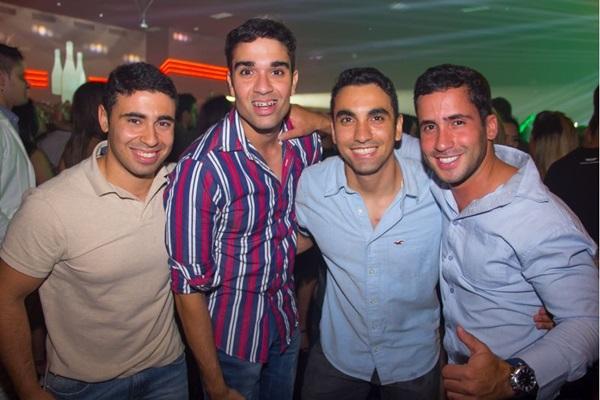 Felipe Elias, Vitor Hugo, João Roberto e Leonardo Pimentel (Romulo Juracy/Esp. CB/D.A Press)