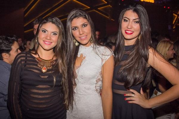 Marcela Cintra, Rosyane Souza e Kamilla Marques (Romulo Juracy/Esp. CB/D.A Press)