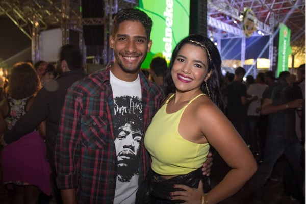 Daniel Rabelo e Hiana Lobo (Romulo Juracy/Esp. CB/D.A Press)