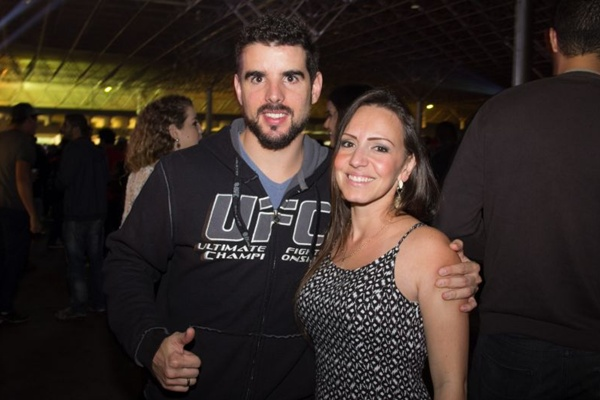 Tales Moura e Marcela Rocha (Romulo Juracy/Esp. CB/D.A Press)