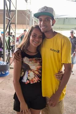 Linda Marques e Rodrigo Silva (Romulo Juracy/Esp. CB/D.A Press)