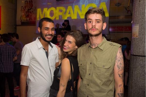 Mateus Rayner, Larissa Ferreira e Pedro Baungurden (Rômulo Juracy/Esp. CB/D.A Press)
