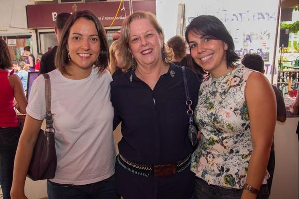 Juliana Portela, Sônia Spinola e Caroline Chahini (Romulo Juracy/Esp. CB/D.A Press)