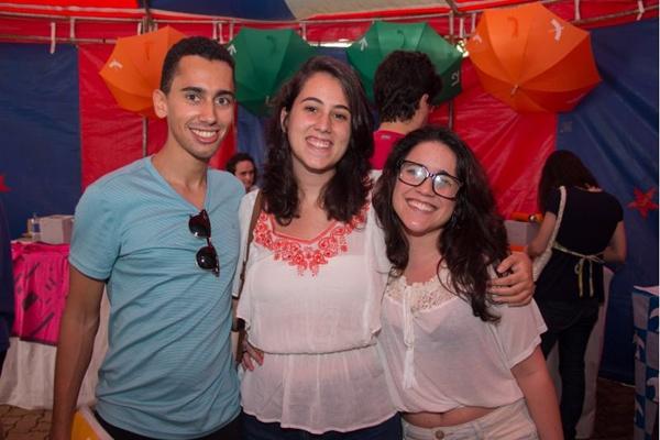 Felipe Cardoso, Julia Leal e Giulia Conte (Romulo Juracy/Esp. CB/D.A Press)