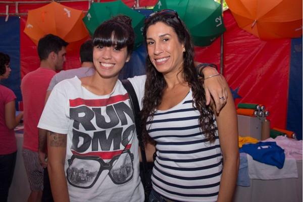 Priscila Pacane e Isabelle Guireli (Romulo Juracy/Esp. CB/D.A Press)