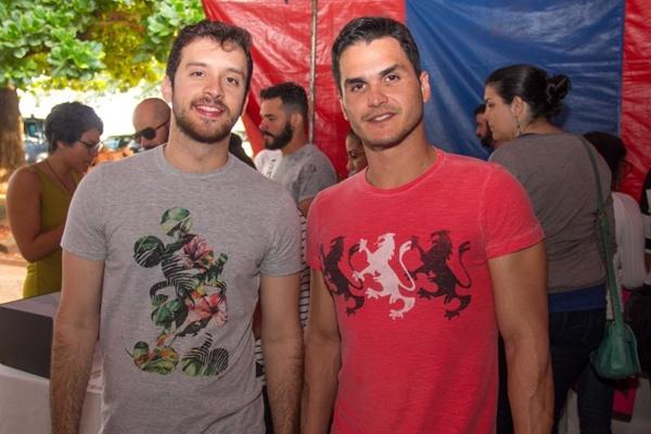 Roberto Josino e Rafael Felismino (Romulo Juracy/Esp. CB/D.A Press)
