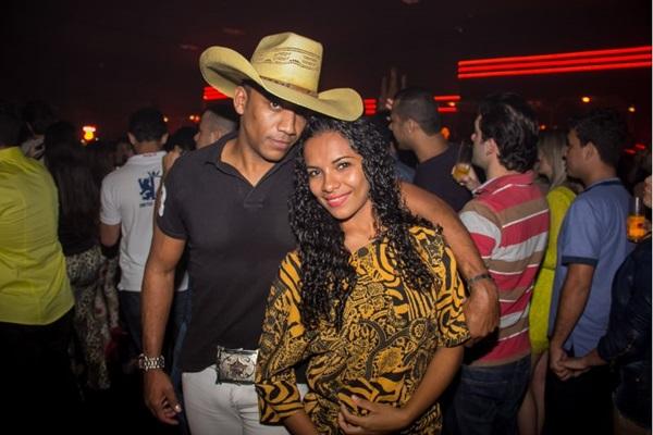 Paulo Bonnata e Larissa Xavier (Romulo Juracy/Esp. CB/D.A Press)