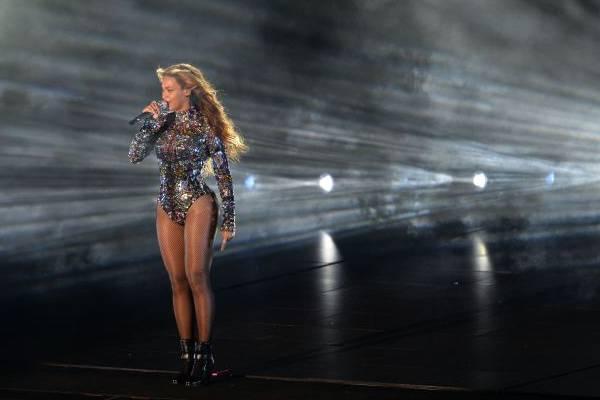 Apresentações da carreira de Beyoncé são destaqueno Multishow  (AFP PHOTO / Robyn Beck )