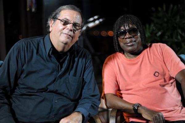 Milton Nascimento e Tárik de Souza no programa MPBambas  (Canal Brasil/Divulgação)