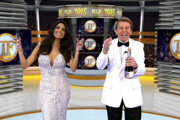 A RedeTV promove a retrospectiva dos famosos no TV Fama (RedeTV/Divulgação)