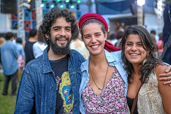 Ely Janoville, Marina Campos e Mariana Nardi (Rômulo Juracy/CB/DA Press)