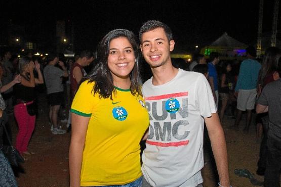 Dani Tavares e João Paulo Gusmão (Rômulo Juracy/CB/DA Press)