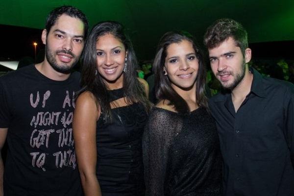 Fernando Pedrosa, Alana Oliveira, Fernanda Barros e Henrique Vasconcelos (Romulo Juracy/Esp. CB/D.A Press)