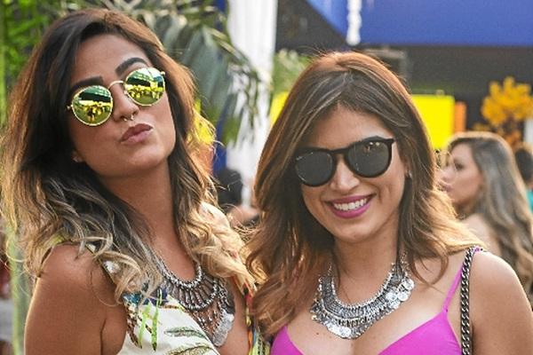 Mariana Amorim e Camila Alencar (Romulo Juracy/Esp. CB/D.A Press)