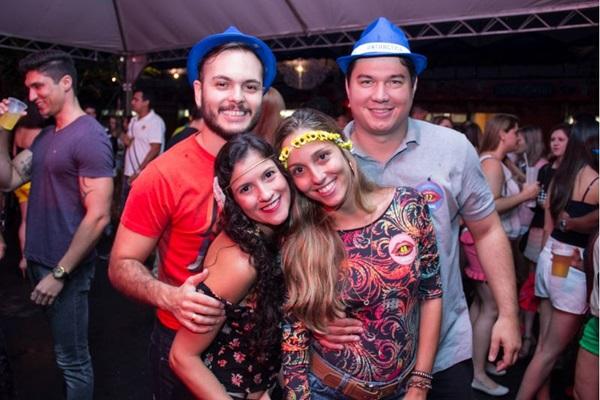 Pedro Terra, Danielle Silvieri, Marina Santos e Luis Zanatta (Romulo Juracy/Esp. CB/D.A Press)