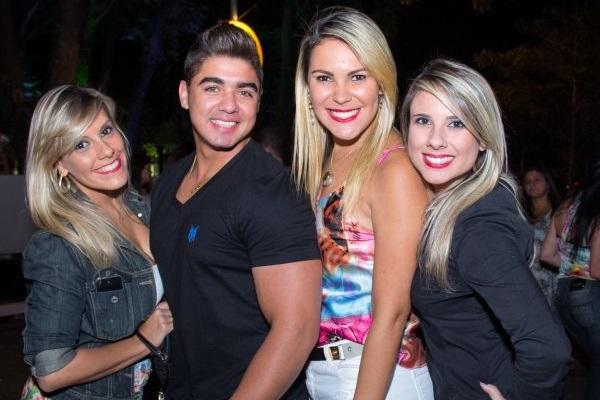 Marília Dias, Leonardo Barbosa, Luciana Miller e Raquel Souza (Romulo Juracy/Esp. CB/D.A Press)