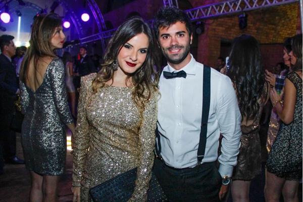 Mariana Hummel e Felipe Serra ( Rômulo Juracy/Esp. CB/D.A Press)
