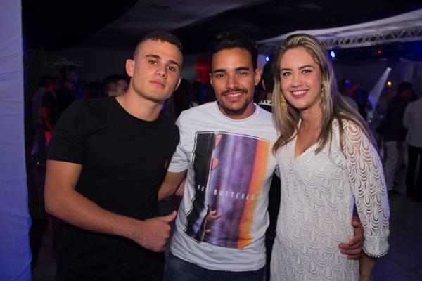 Helton Sousa, André Sousa e Mariana Almeida (Rômulo Juracy/Esp. CB/D.A Press)