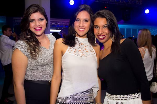 Tainá Alves, Julia Queiroz e Ana Karolina Mesquita (Rômulo Juracy/Esp. CB/D.A Press)