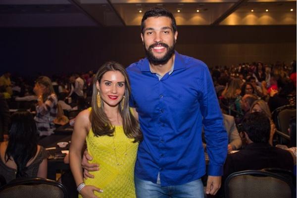 Bárbara Clauss e Ricardo Muniz (Romulo Juracy/Esp. CB/D.A Press)