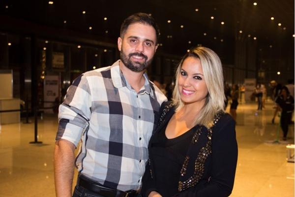 Gentil Melo Junior e Vanessa de Araújo (Romulo Juracy/Esp. CB/D.A Press)