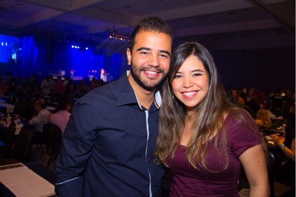 Thiago Brito e Jullyana Santos (Romulo Juracy/Esp. CB/D.A Press)