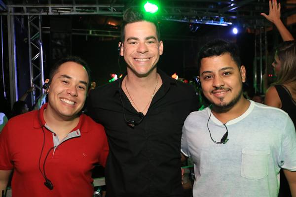 Carlos Henrique, Felipe Paganella, Ricardo Pereira (Vinícius Melo/Divulgação)