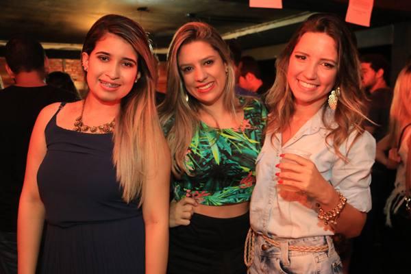 Ana Paula Ferreira, Monique Kristy e Ana Maria Almeida (Vinícius Melo/Divulgação)