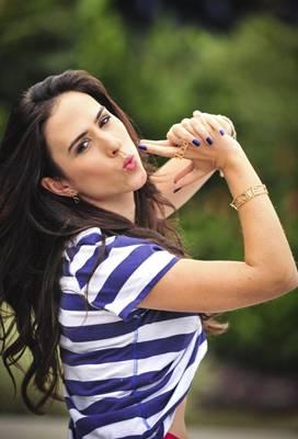 Atriz Tatá Werneck, que interpretou Valdirene, na novela Amor à Vida (João Miguel Júnior/TV Globo)