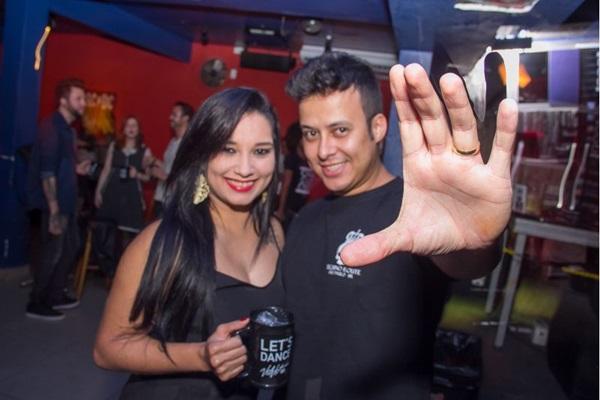 Nayara Alves e Bruno Marçal (Romulo Juracy/Esp. CB/D.A Press)