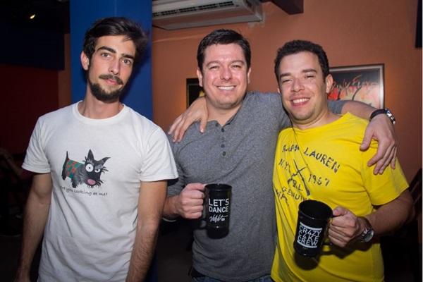 Rodrigo Gazola, Marcelo Viegas e Emmanuel Reis (Romulo Juracy/Esp. CB/D.A Press)