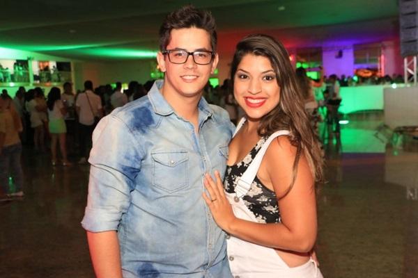 Pedro Barreto e Débora Monteiro (Vinícius Melo/Divulgação)