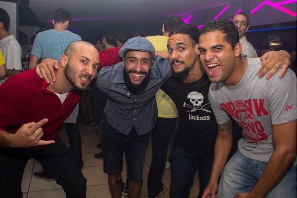 Beto Freitas, Gabriel Santos, Kevin Vinicius e Ramon Neves (Rômulo Juracy/Esp. CB/D.A Press)