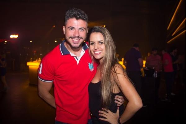 Felipe Rocha e Amanda Duarte (Romulo Juracy/Esp. CB/D.A Press)
