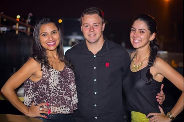 Karla Cunha, Hugo Lisboa e Juliana Pessoa (Romulo Juracy/Esp. CB/D.A Press)