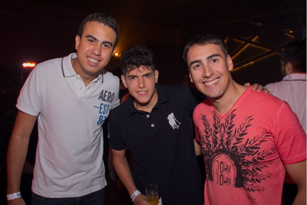 Vinicius Costa, Matheus Varanda e Daniel Araújo (Romulo Juracy/Esp. CB/D.A Press)