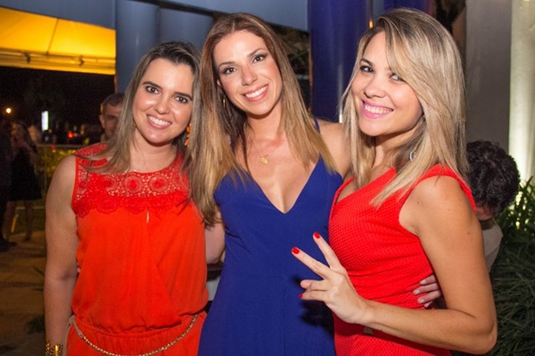 Ligia Zucker, Raissa Costa e Viviane Monteiro (Romulo Juracy/Esp. CB/D.A Press)