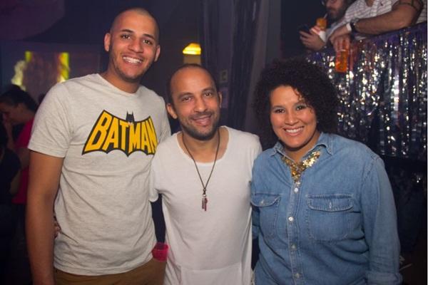 Anderson Luiz, Leandro Luiz e Marcele da Costa ( Romulo Juracy/Esp. CB/D.A Press)