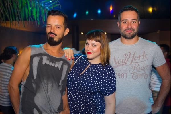 André Gagliardo, Dani Bonani e Márcio Miguel ( Romulo Juracy/Esp. CB/D.A Press)