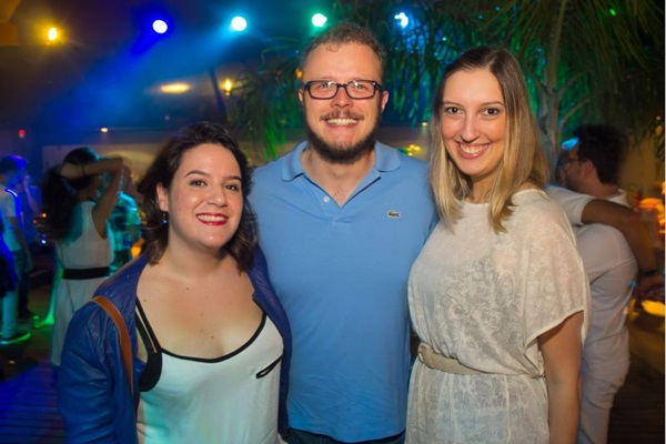 Luisa Bravo, Ricardo Filho e Ana Paula Alcântara ( Romulo Juracy/Esp. CB/D.A Press)