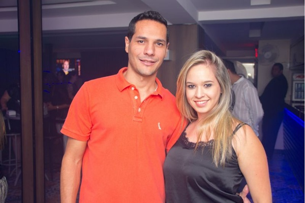 Guilherme Nogueira e Amanda Alves (Rômulo Juracy/Esp. CB/D.A Press)