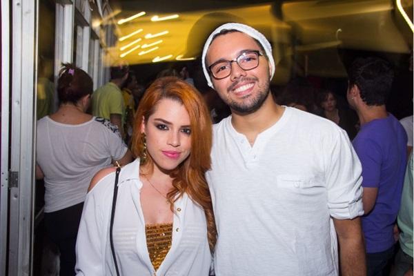 Ana Gonçalves e Eduardo Capuano  (Romulo Juracy/Esp. CB/D.A Press)