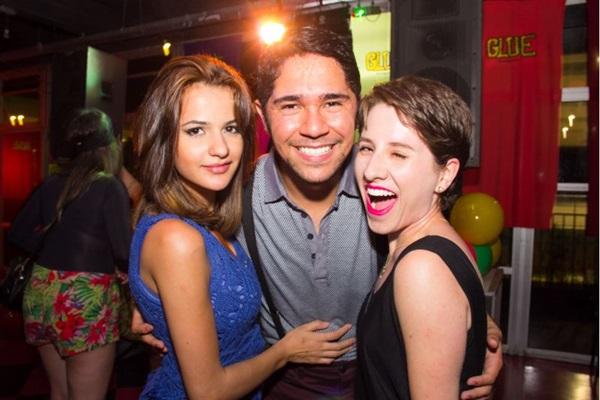Anna Maria Lima, Silvair Junior e Marília Santana (Romulo Juracy/Esp. CB/D.A Press)