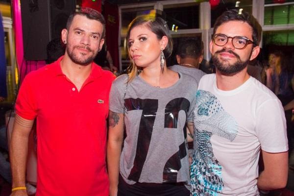 Naldo Sousa, Marcella Cristine e Rafa Martins (Romulo Juracy/Esp. CB/D.A Press)