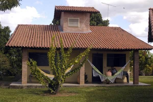 No Cabugi, o hóspede pode aproveitar as delícias do campo  (Paulo de Araujo/CB/D.A Press)